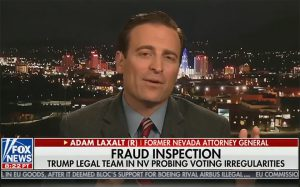 Laxalt Details the Voting Irregularities and Potential Fraud Under Investigation in Nevada